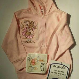 Vintage Rare Beatrix Potter Hoodie 6 to 9 months